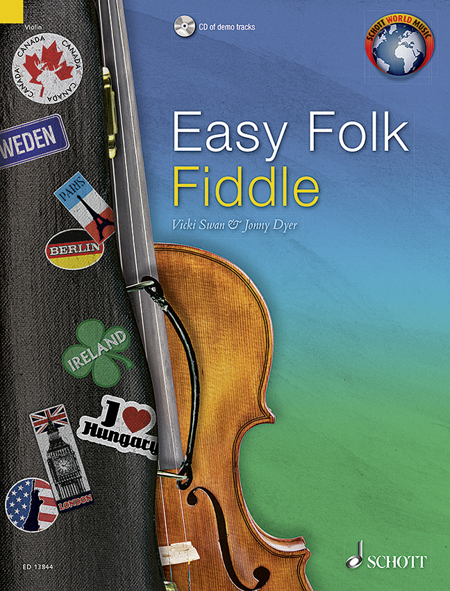 Easy Folk Fiddle edition with CD violin 9790220136887